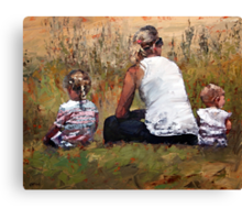 Beachside V Canvas Print