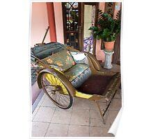Antique Trishaw of Penang Poster