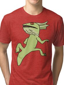 The Exposed Gecko Tri-blend T-Shirt