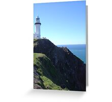 Lighthouse from Cape Byron Greeting Card
