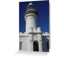 Lighthouse facade. Greeting Card
