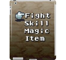 Turn-Based Battle Menu iPad Case/Skin