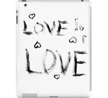 7 DAYS OF SUMMER-VALENTINES DAY-INDIE BLACK LOVE-  iPad Case/Skin