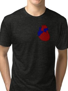 Vector is where the Heart is Tri-blend T-Shirt