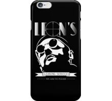 Leon's cleaning services. iPhone Case/Skin