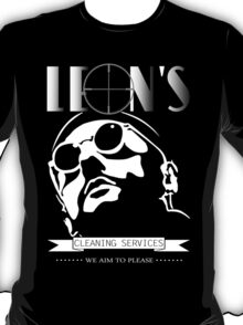 Leon's cleaning services. T-Shirt