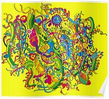 Colour explosion Poster