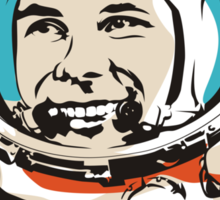 Be first like Yuri Gagarin.  Sticker