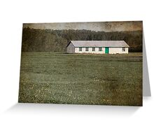 Old-fashioned Farm Shed Greeting Card