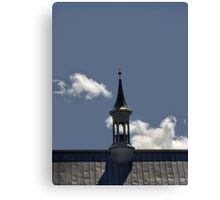 In the Shadow of the Steeple Canvas Print