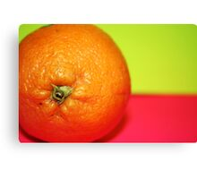 orange Canvas Print