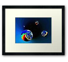 Fractal Cosmos Framed Print