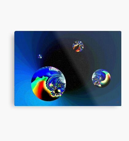 Fractal Cosmos Metal Print