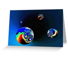 Fractal Cosmos Greeting Card