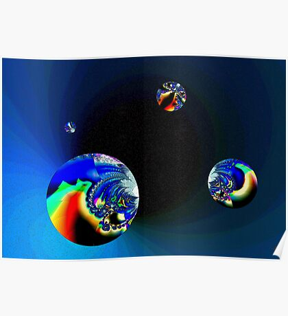 Fractal Cosmos Poster