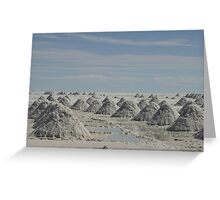 Uyuni Salt Flats Greeting Card