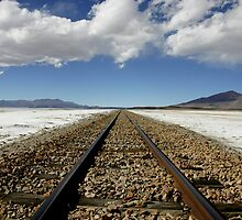 Train to Nowhere by HappyYakImages
