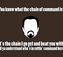 The Chain of Command - White by steffirae