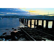 Off The Rails - Clareville - Sydney Beaches - The HDR Series Photographic Print