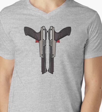 NES Zapper Mens V-Neck T-Shirt