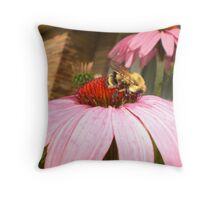 mind your own beeswax Throw Pillow