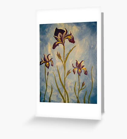 Iris' Greeting Card