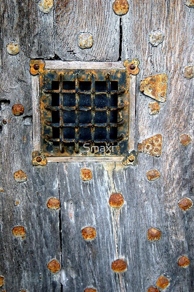 Crathes Door Detail by Smaxi
