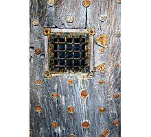 Crathes Door Detail Photographic Print