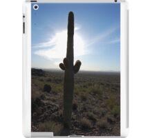 cactus in the light iPad Case/Skin
