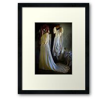 A Ladies' Boudoir ... Gowns Framed Print