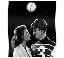 George Lassos the Moon Poster