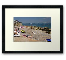 Seaview Beach from the Slipway Framed Print