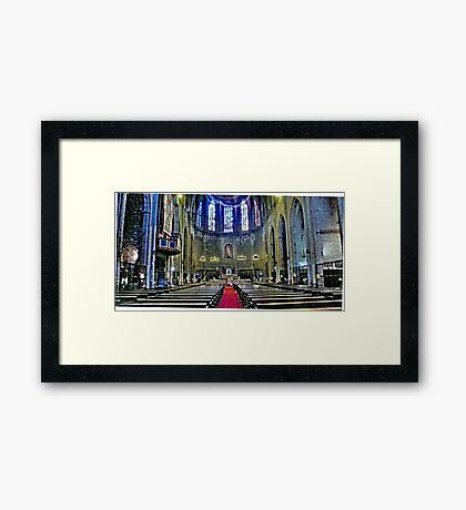 Santa Maria del Pi Framed Print