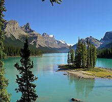 Lake Maligne - Jasper National Park by John Kardys