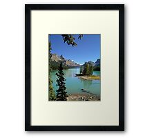 Lake Maligne - Jasper National Park Framed Print