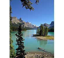 Lake Maligne - Jasper National Park Photographic Print