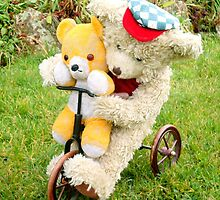 Two on a trike by missmoneypenny