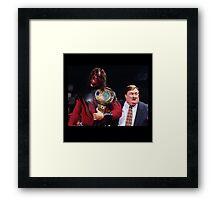 WWE Attitude Era - Kane and His Daddy Framed Print