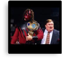 WWE Attitude Era - Kane and His Daddy Canvas Print