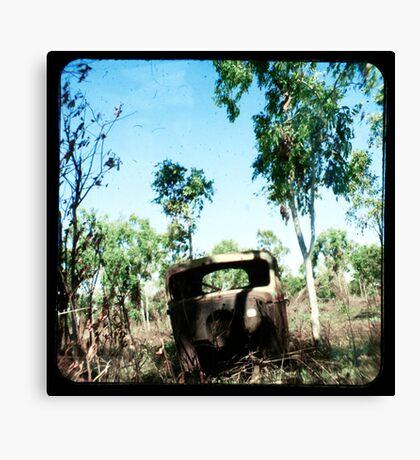 The Old Aussie Ute Canvas Print