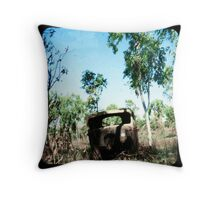 The Old Aussie Ute Throw Pillow