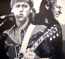 Mark Knopfler Portrait by Michael James Toomy