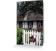Paysages Normandie LOVE  landscapes 20 (c)(h) canon eos 5 by Olao-Olavia / Okaio Créations   1985 Greeting Card