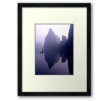 MORNING CALM - LI RIVER Framed Print