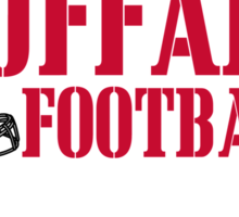 ALL I CARE ABOUT IS BUFFALO FOOTBALL Sticker