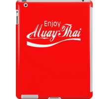 Enjoy Muay Thai iPad Case/Skin