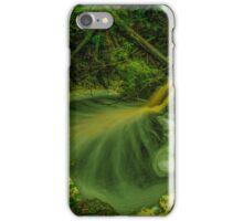 Golden cascades, Hebe River iPhone Case/Skin