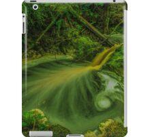 Golden cascades, Hebe River iPad Case/Skin