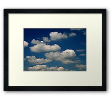 Powder Puffs and Cotton Candy Framed Print
