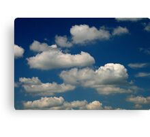 Powder Puffs and Cotton Candy Canvas Print